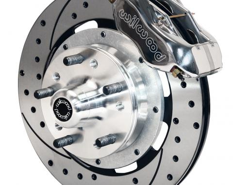 Wilwood Brakes Forged Dynalite Big Brake Front Brake Kit (Hub) 140-7675-DP