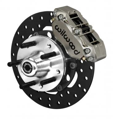Wilwood Brakes Dynapro Lug Mount Front Dynamic Drag Brake Kit 140-14418-DN