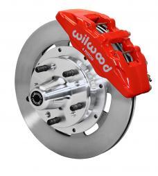 Wilwood Brakes Forged Dynapro 6 Big Brake Front Brake Kit (Hub) 140-12837-R