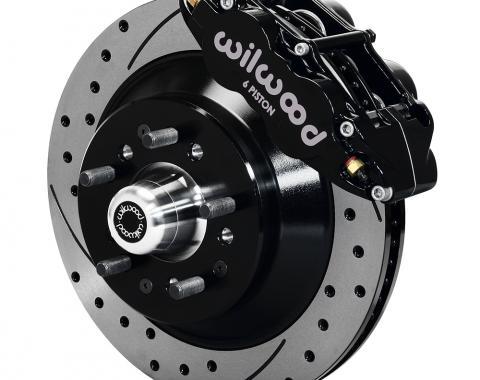 Wilwood Brakes Forged Narrow Superlite 6R Big Brake Front Brake Kit (Hub and 1PC Rotor) 140-12271-D