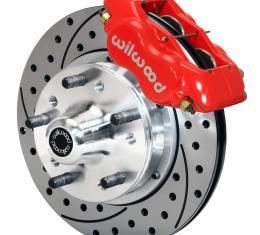 Wilwood Brakes Forged Dynalite Pro Series Front Brake Kit 140-11007-DR