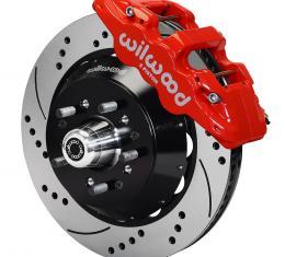 Wilwood Brakes AERO6 Big Brake Front Brake Kit 140-10920-DR