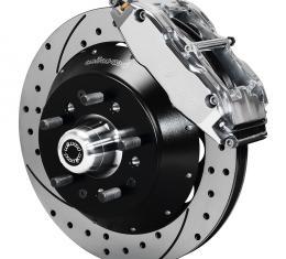 Wilwood Brakes Forged Narrow Superlite 6R Big Brake Front Brake Kit (Hub) 140-9804-DP