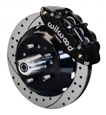 Wilwood Brakes Forged Narrow Superlite 6R Big Brake Front Brake Kit (Hub) 140-10485-D