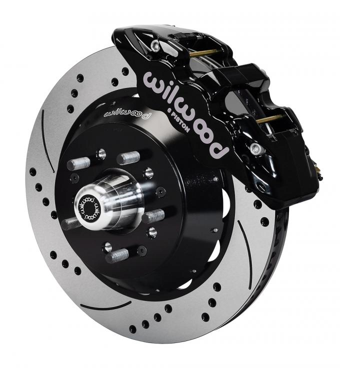 Wilwood Brakes AERO6 Big Brake Front Brake Kit 140-10920-D