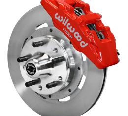 Wilwood Brakes Forged Dynapro 6 Big Brake Front Brake Kit (Hub) 140-10510-R