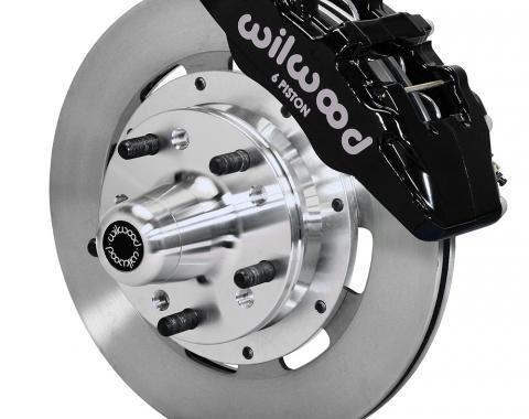 Wilwood Brakes Forged Dynapro 6 Big Brake Front Brake Kit (Hub) 140-12837