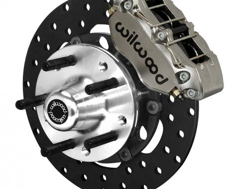 Wilwood Brakes Dynapro Lug Mount Front Dynamic Drag Brake Kit 140-14417-DN