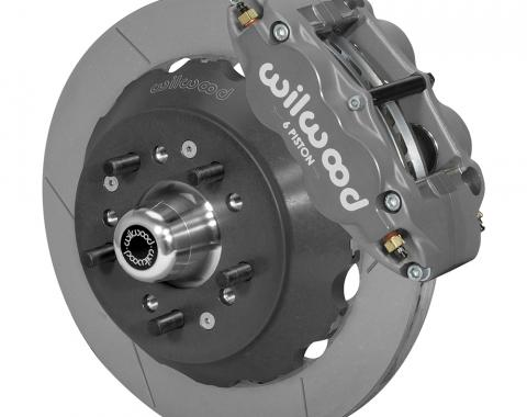 Wilwood Brakes Forged Narrow Superlite 6R Big Brake Dynamic Front Brake Kit (Hub) 140-14542