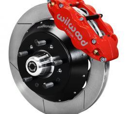 Wilwood Brakes Forged Narrow Superlite 6R Big Brake Front Brake Kit (Hub) 140-9803-R