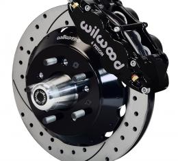Wilwood Brakes Forged Narrow Superlite 6R Big Brake Front Brake Kit (Hub) 140-10486-D