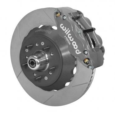 Wilwood Brakes Forged Narrow Superlite 6R Big Brake Dynamic Front Brake Kit (Hub) 140-14543