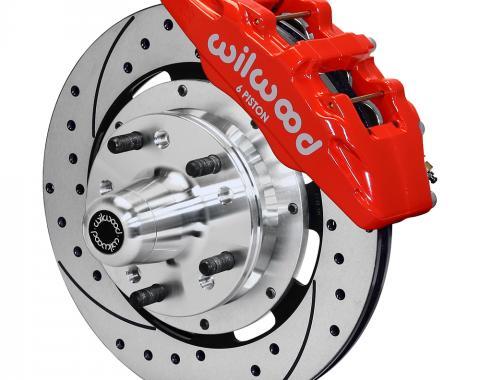 Wilwood Brakes Forged Dynapro 6 Big Brake Front Brake Kit (Hub) 140-12837-DR