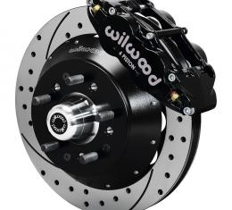 Wilwood Brakes Forged Narrow Superlite 6R Big Brake Front Brake Kit (Hub) 140-9804-D