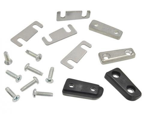 Trim Parts 63 Buick, Oldsmobile and 66 Skylark Convertible Top Lid/Door Alignment Wedges, Set 5195