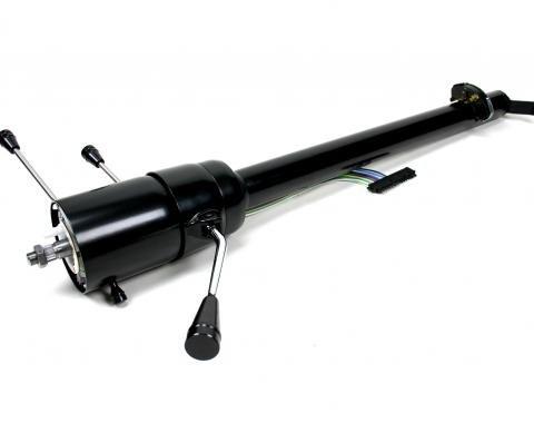 ididit CUSTOM 1964-65 Chevelle GTO Straight Column Shift Column - Black 1160649951