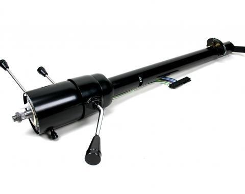 ididit CUSTOM 1966 Chevelle & GTO Tilt Floor Shift - Black 1140619951