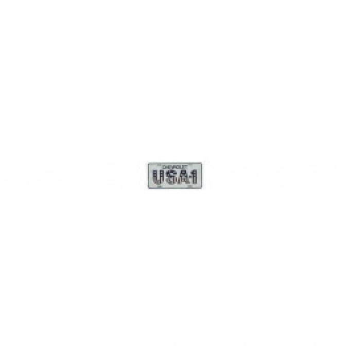 License Plate, Chevrolet, USA-1