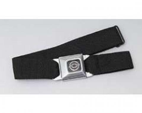 Belt, With Chevrolet Seat Belt Buckle