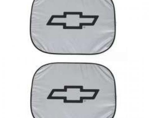 Chevy Window Shades, Bowtie