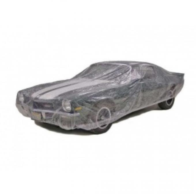 Car Cover, Disposable Clear, Medium