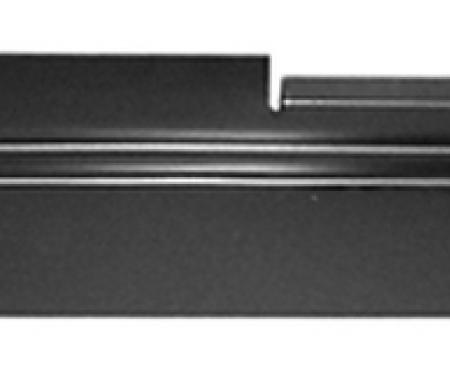 Key Parts '73-'87 Rocker Backing Plate, Passenger's Side 0850-302 R