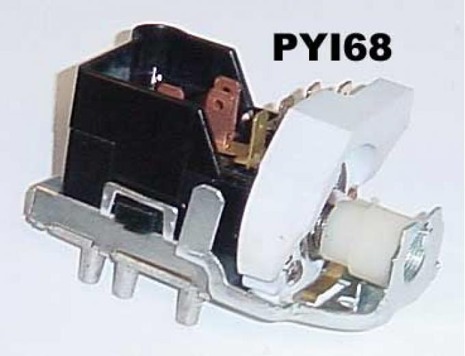 GTO Headlight Switch, Dash, 1967-1968