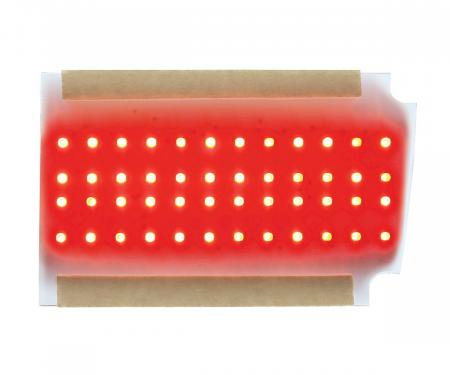 United Pacific Sequential LED Tail Light Insert Board For 1970 Chevy Chevelle - R/H 110158