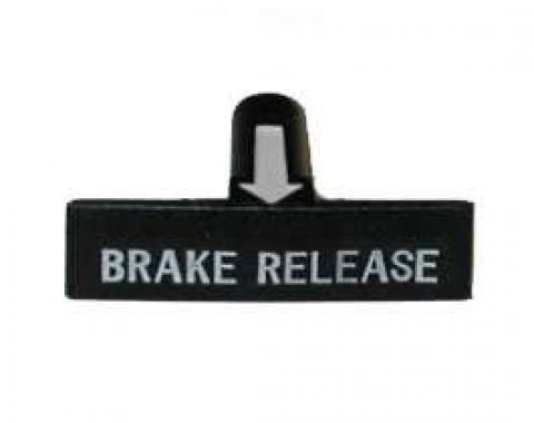 Parking Brake & Emergency Release Handle, 1963-1967