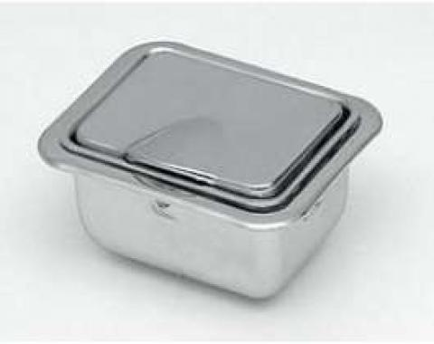 Rear Ashtray Assembly, 2-Door Hardtop & Convertible, Late 1959-1967
