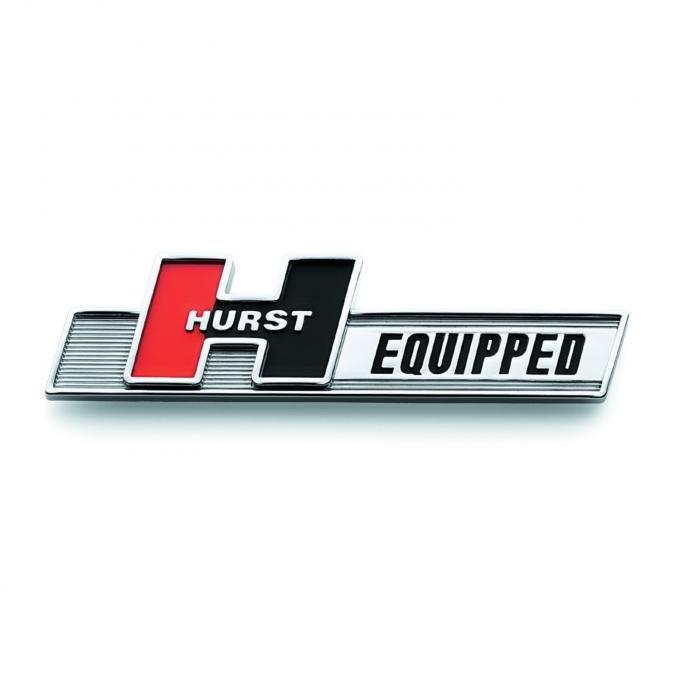 Hurst Equipped Emblem 1361000