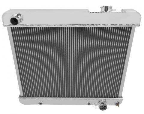 Champion Cooling 3 Row All Aluminum Radiator Made With Aircraft Grade Aluminum CC284-BLK