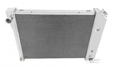 Champion Cooling 4 Row All Aluminum Radiator Made With Aircraft Grade Aluminum MC571