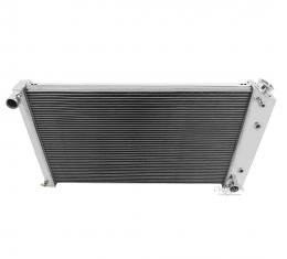 Champion Cooling 4 Row All Aluminum Radiator Made With Aircraft Grade Aluminum MC161