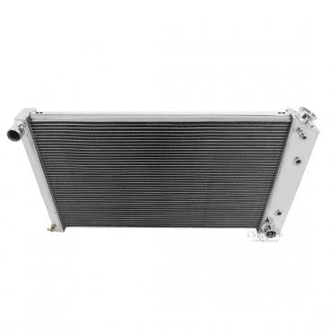 Champion Cooling 2 Row All Aluminum Radiator Made With Aircraft Grade Aluminum EC161