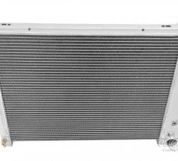 """Champion Cooling 2 Row with 1"""" Tubes All Aluminum Radiator Made With Aircraft Grade Aluminum AE571"""