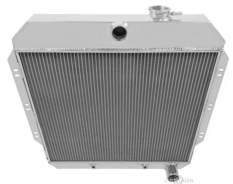 Champion Cooling 4 Row All Aluminum Radiator Made With Aircraft Grade Aluminum MC6062