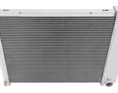 Champion Cooling 3 Row All Aluminum Radiator Made With Aircraft Grade Aluminum CC571-M