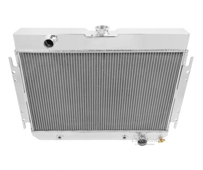 Champion Cooling 4 Row All Aluminum Radiator Made With Aircraft Grade Aluminum MC289