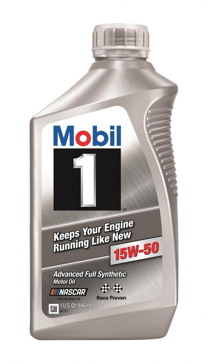 Mobil 1 Synthetic Motor Oil 15W-50 122377