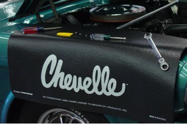 Fender Gripper® Cover, Black With Chevelle Logo