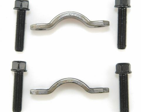 Moog Chassis 530-10, Universal Joint Strap, OE Replacement, Includes 2 1.81 Inch Lenght Bolt Center Clamps And 4 5/16-24 Inch x 1-5/16 Inch Cap Screws