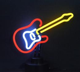 Neonetics Neon Sculptures, Electric Guitar Neon Sculpture