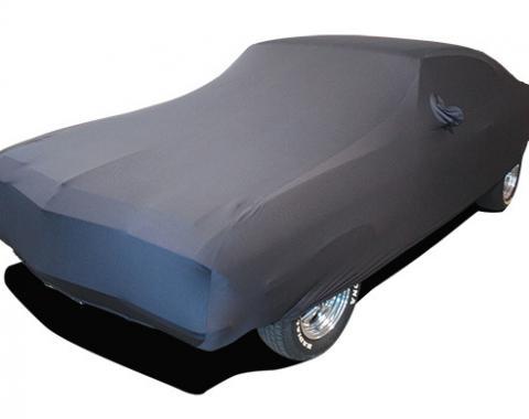 Chevelle Car Cover, Onyx Satin Indoor, Black, 1968-1972
