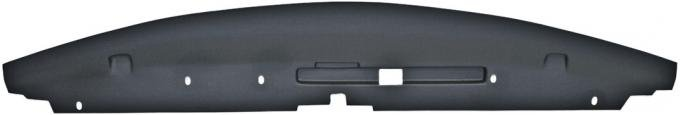 Dashtop 1970 Pontiac GTO Front Filler Panel Satin Black 1313-15243