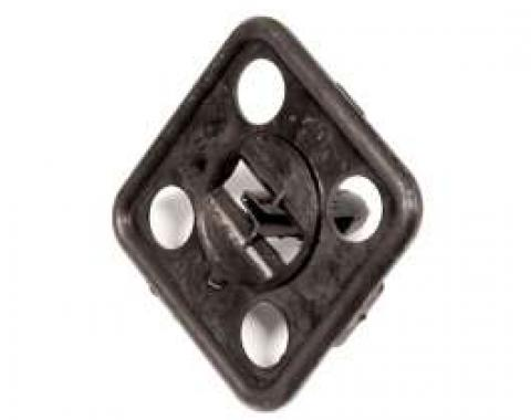 Hood Insulation Clip, Plastic Small Square, 1964-1981
