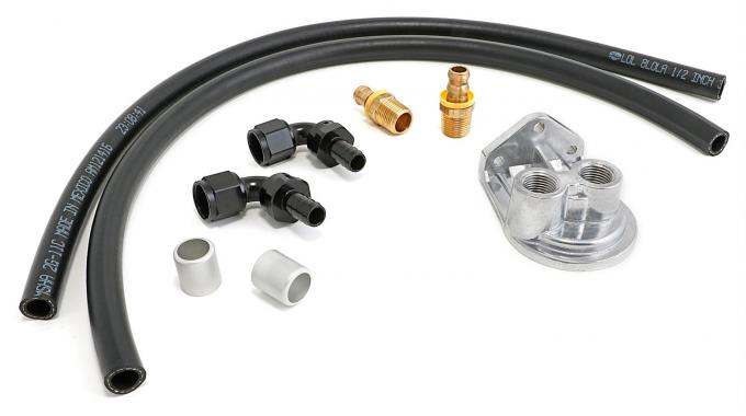 Trans-Dapt Performance Remote Oil Filter Relocation Kit 1012