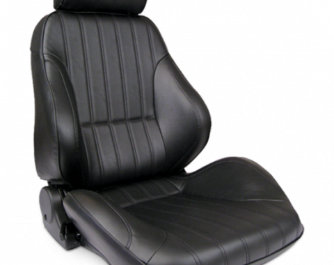 Procar Rally Seat, with Headrest, Right, Vinyl