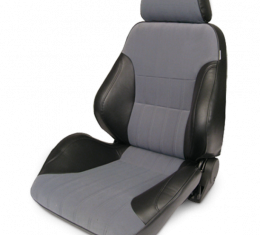 Procar Smoothback Rally Seat, with Headrest, Left, Velour