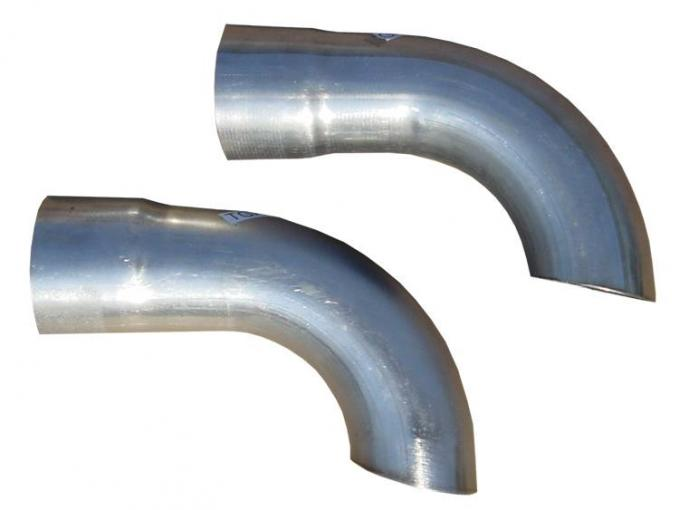 Pypes Extension Kit 3 in Side Exit Used For Quarter Outlet On GM A-Body Systems Hardware Incl Natural 409 Stainless Steel Exhaust TGA13E
